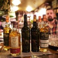 "The Arran Malt Whisky Tasting line-up • <a style=""font-size:0.8em;"" href=""http://www.flickr.com/photos/21531446@N05/14928199523/"" target=""_blank"">View on Flickr</a>"