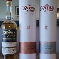 "The Arran 17 and 16 together with a Cask Strength Arran • <a style=""font-size:0.8em;"" href=""http://www.flickr.com/photos/21531446@N05/14791294387/"" target=""_blank"">View on Flickr</a>"