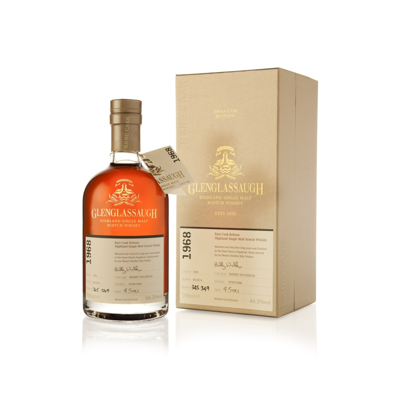 Glenglassaugh lanceert eerste batch Single Cask bottelingen