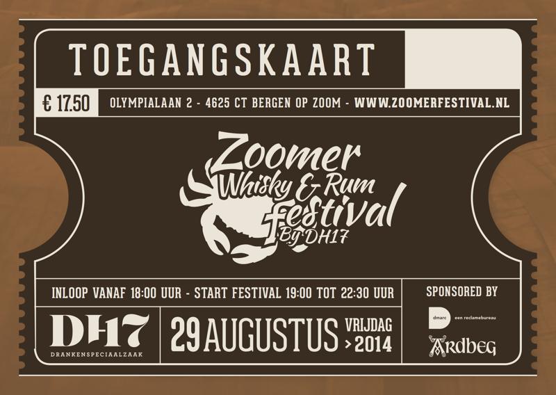 Het Zoomer Whisky en Rum Festival