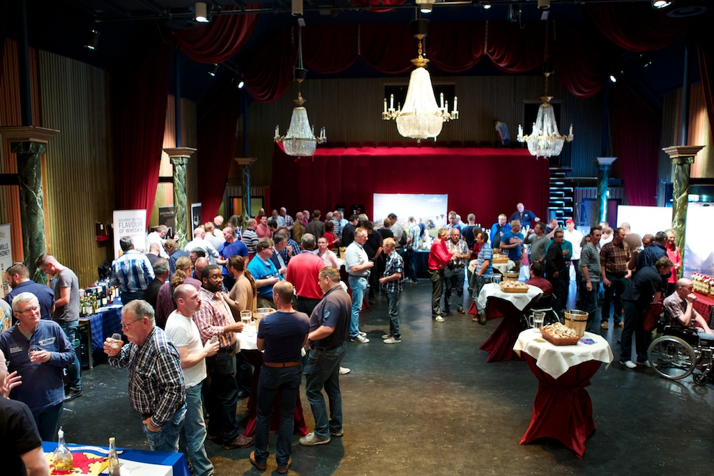 Whisky by the Sea 2014 was gezellig druk