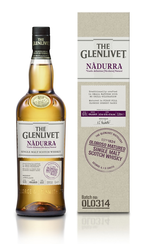 "De nieuwe ""The Glenlivet Nàdurra Oloroso"" is er"