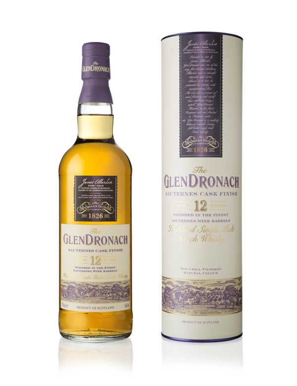 GlenDronach lanceert de GlenDronach 12 years old Sauternes Cask Finish