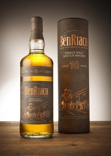 BenRiach 10 Years Old wordt vandaag  gelanceerd