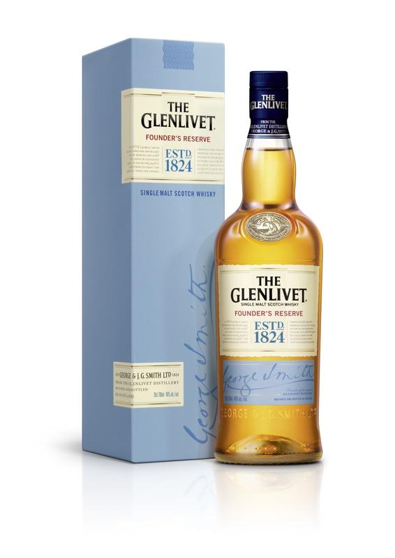 The Glenlivet Founder's Reserve, een gloednieuwe single malt