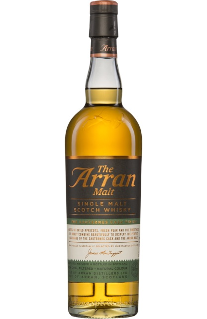 Arran Sauternes Cask Finish – Proefnotities
