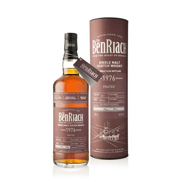 BenRiach lanceert single cask bottelingen Batch 12