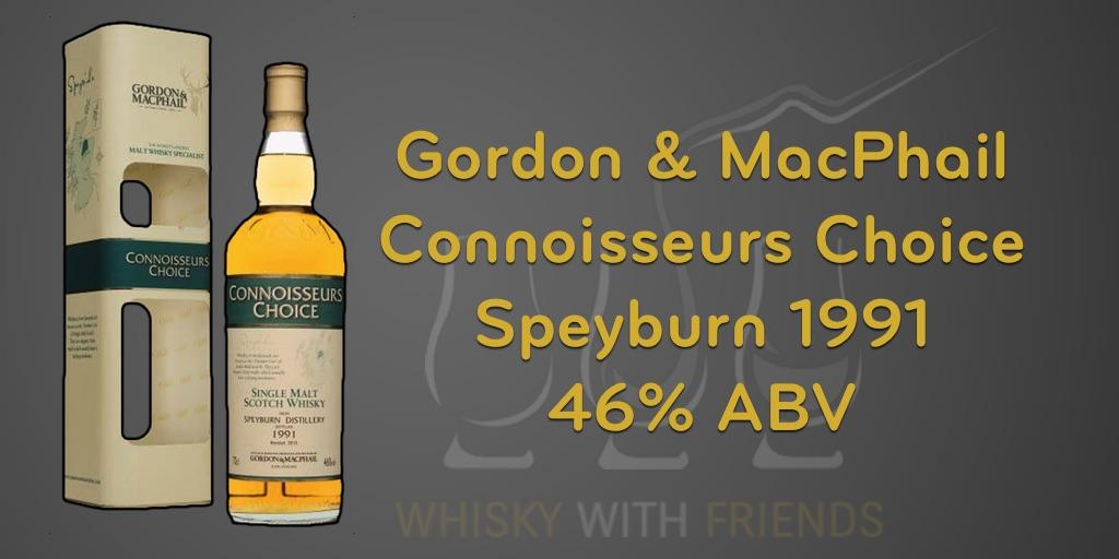Speyburn 1991 – Gordon & MacPhail – Proefnotities