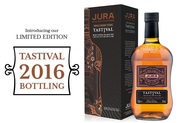 Limited Edition Jura Tastival 2016 Botteling voorgesteld