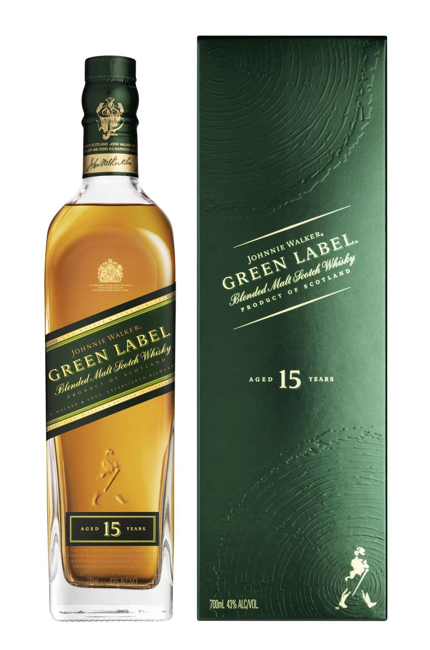 Johnnie Walker Green Label is terug van weggeweest!
