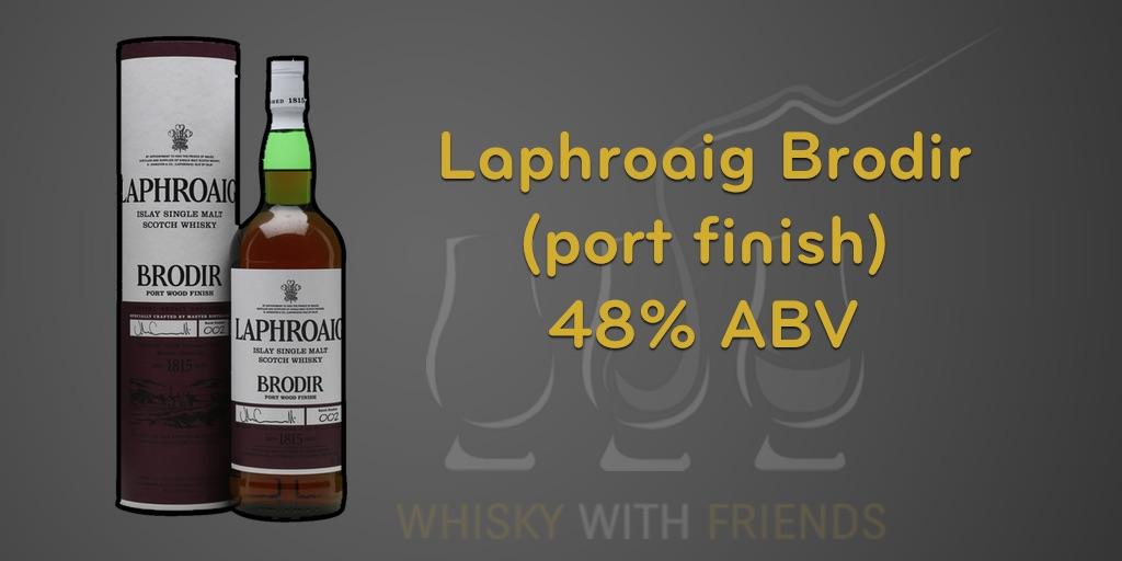 Laphroaig Brodir – Proefnotities