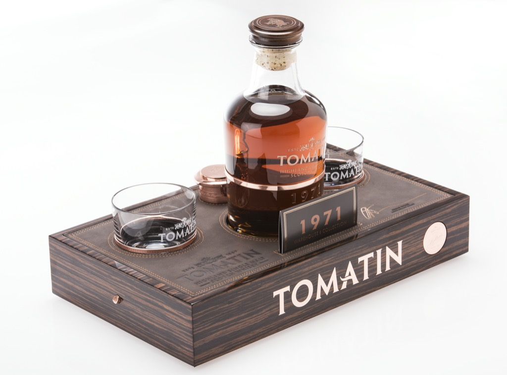 Tomatin stelt een super premium 44 Year Old Single Malt voor.