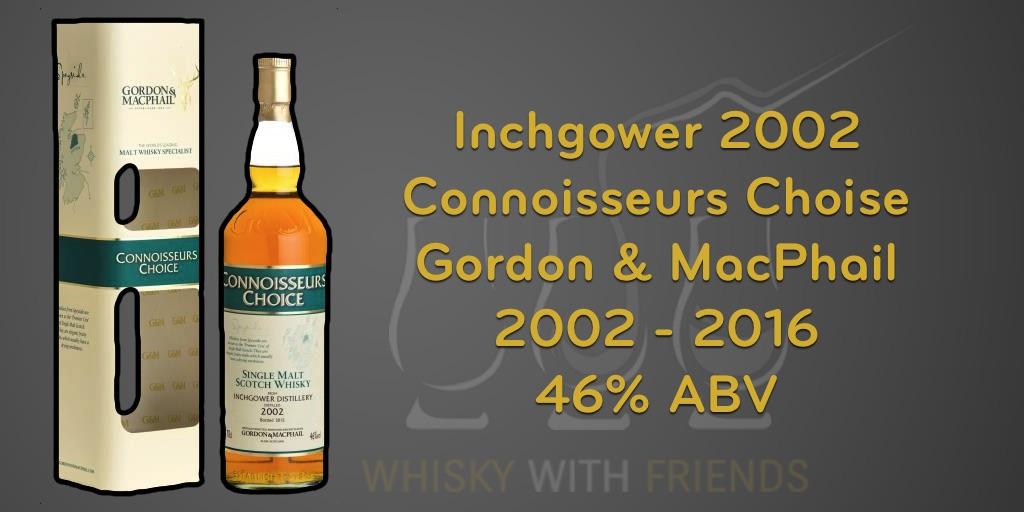 Inchgower 2002 – Gordon & MacPhail – Proefnotities