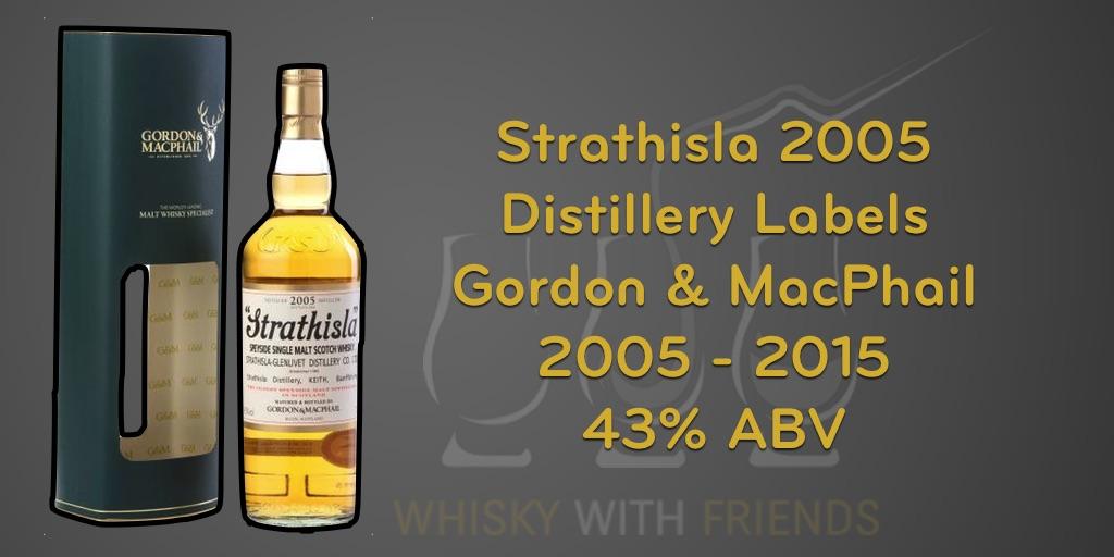 Strathisla 2005 – Gordon & MacPhail – Proefnotities