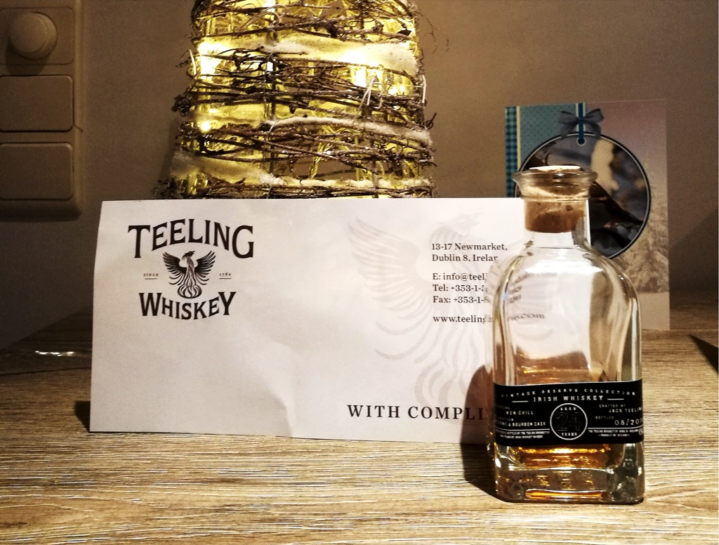 Teeling Vintage Reserve Collection 24 Years Old – Proefnotities