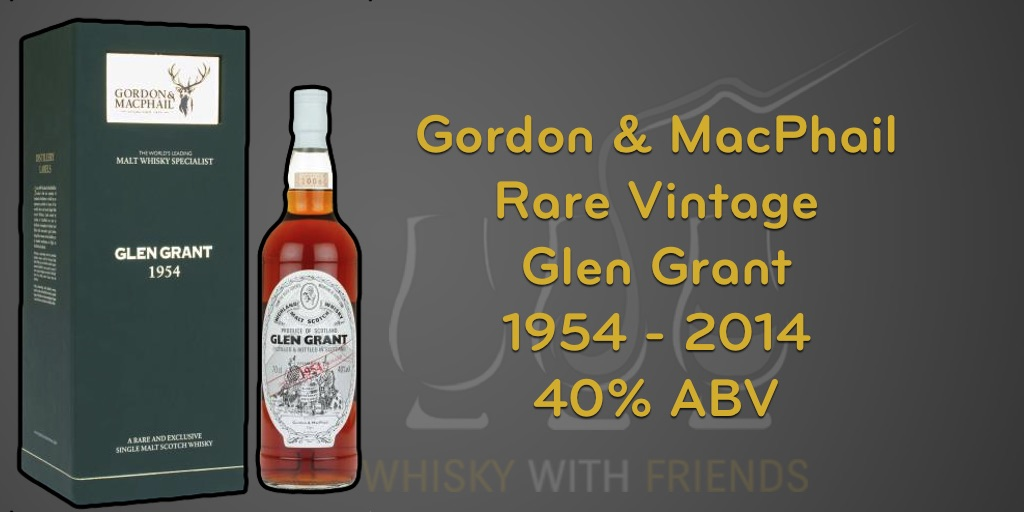 Glen Grant 1954 – Gordon & MacPhail- Proefnotities