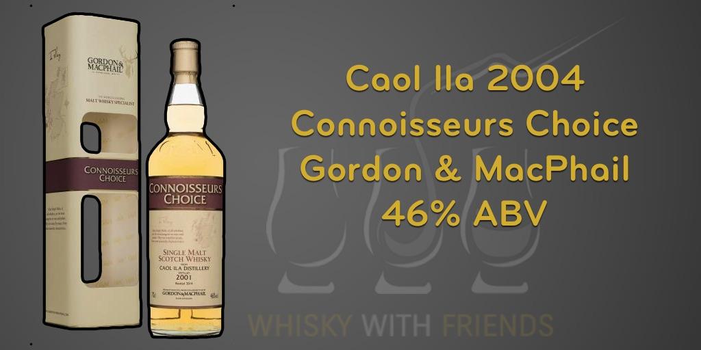 Caol Ila 2004 – Gordon & MacPhail – Proefnotities