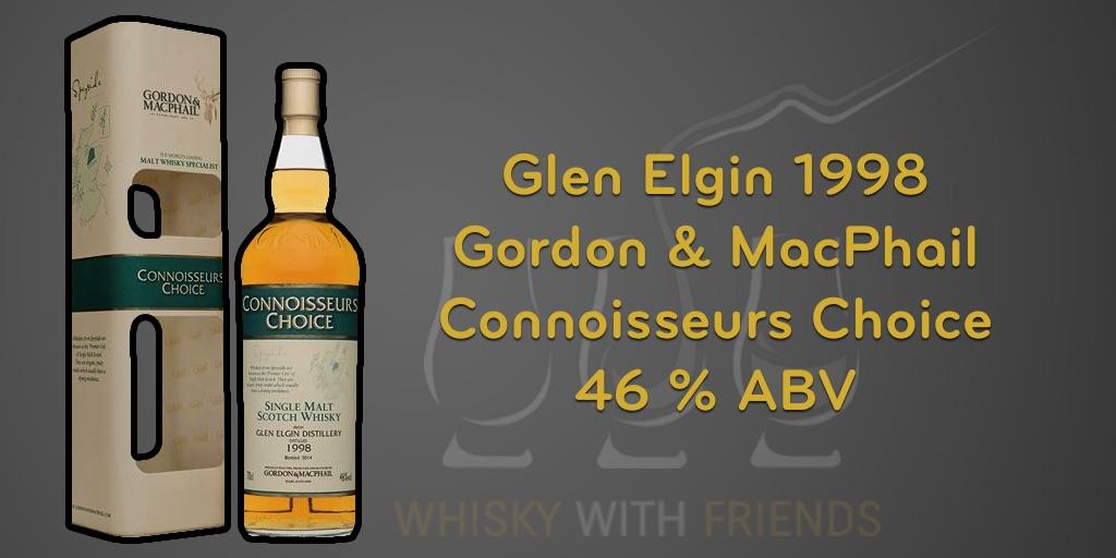 Glen Elgin 1998 – Gordon & MacPhail – Proefnotities
