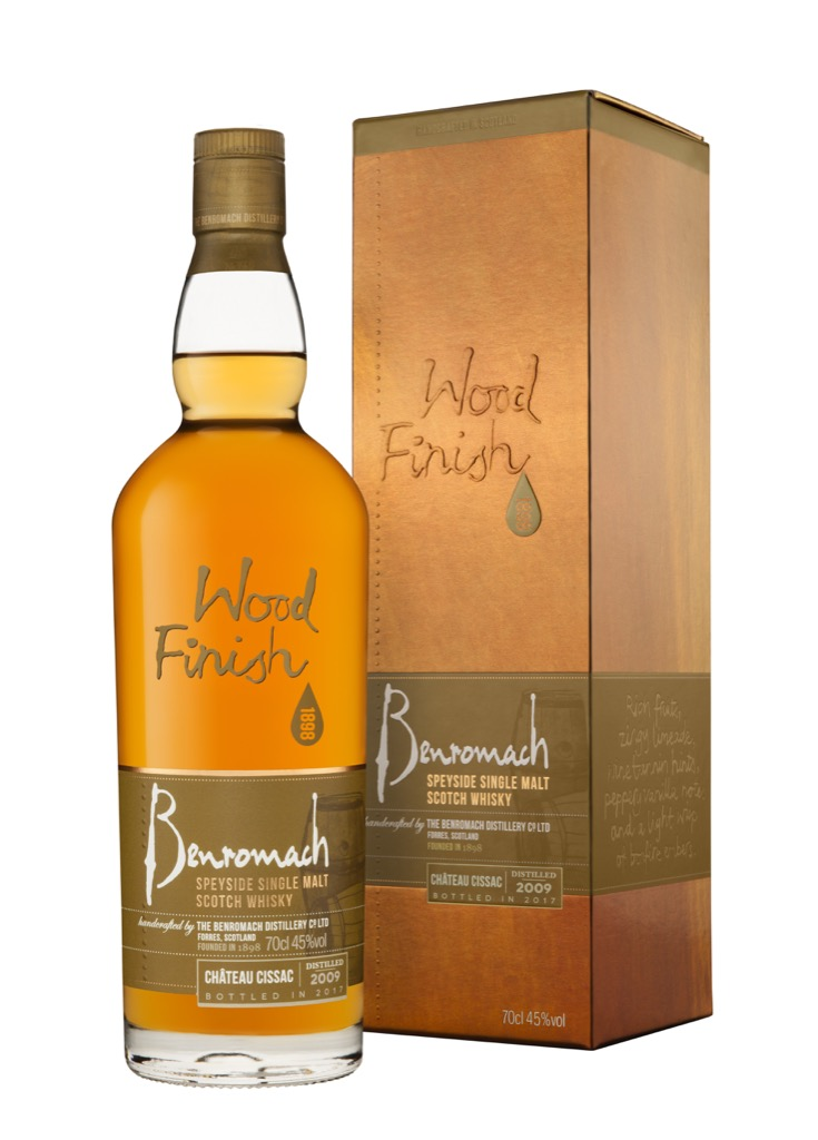 Benromach lanceert een Chateau Cissac Wood Finish