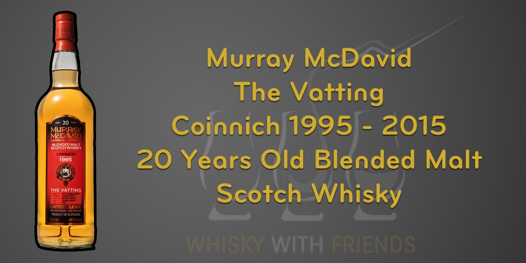 Murray McDavid – Coinnich – 20 Years Old Blended Malt