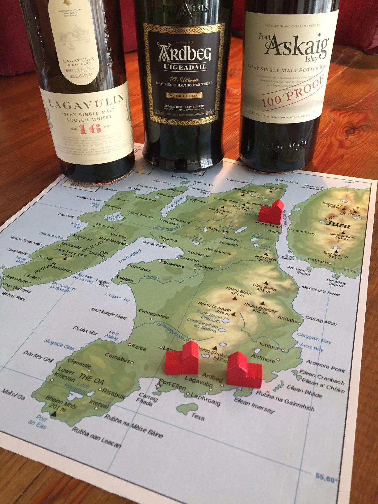 Meet & Match:   Drie keer een Islay whisky