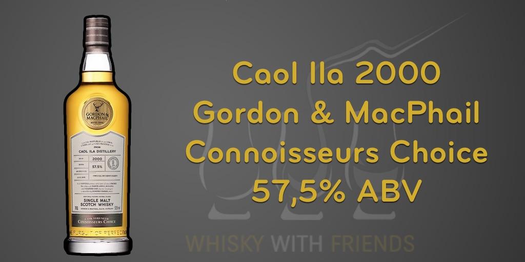 Caol Ila 2000 – Gordon & MacPhail – Proefnotities