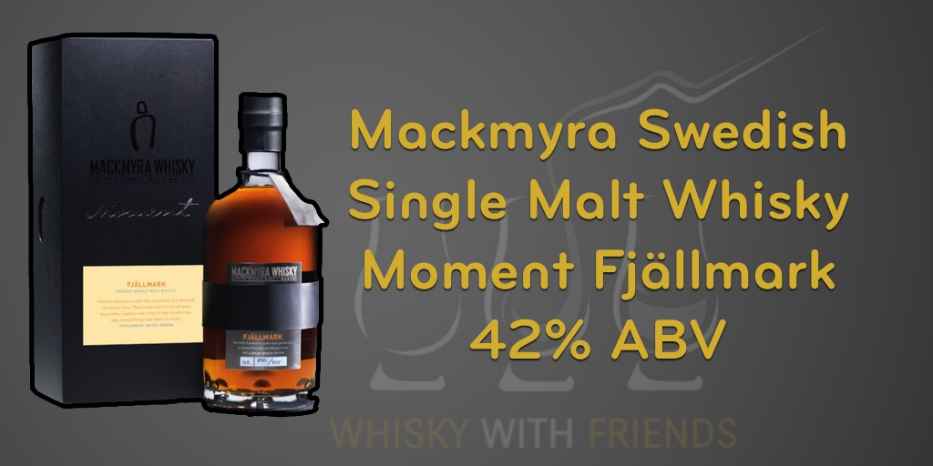 Mackmyra Moment Fjällmark – Proefnotities