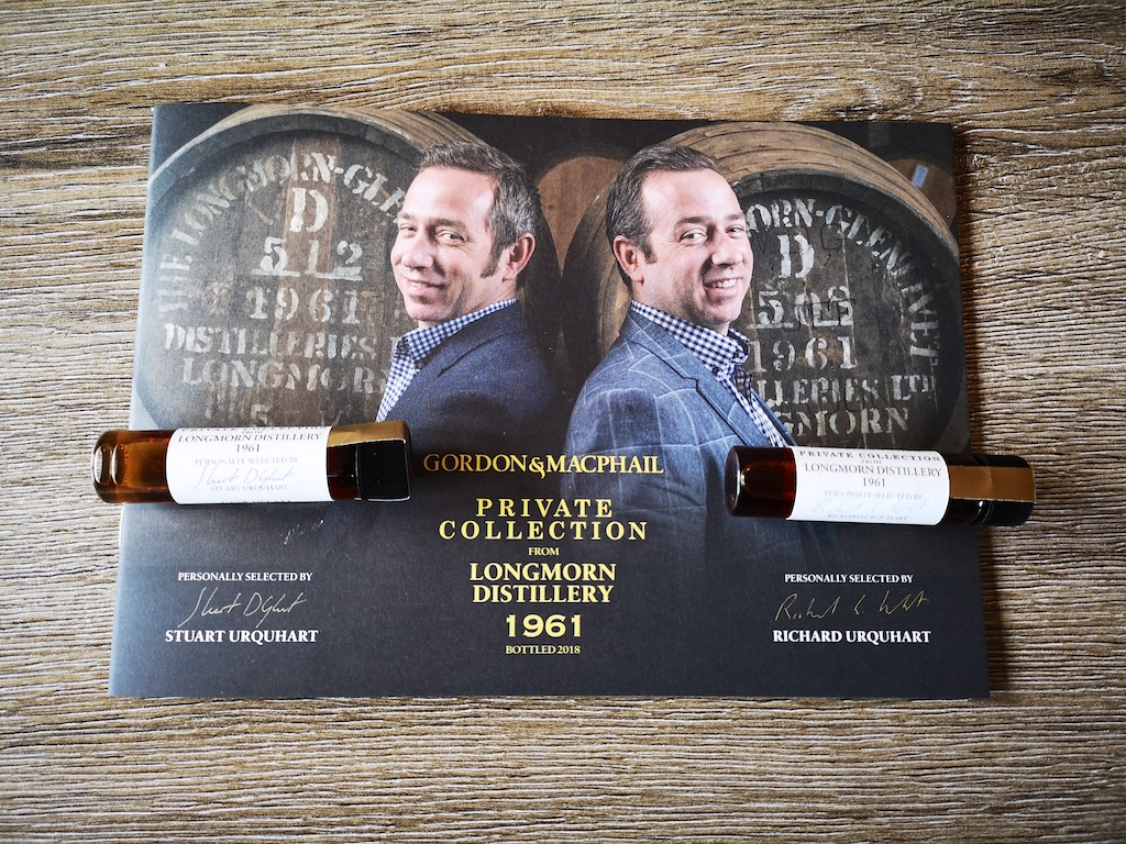 Gordon & Macphail Twin Longmorn 1961 – Proefnotities