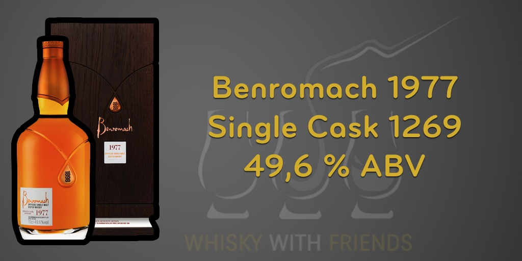 Benromach 1977 – Proefnotities