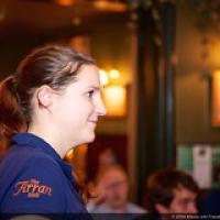 "Lucie Stroesser, European Brand Ambassador van The Arran Distillery • <a style=""font-size:0.8em;"" href=""http://www.flickr.com/photos/21531446@N05/15548357505/"" target=""_blank"">View on Flickr</a>"