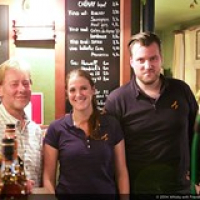 """Phillippe (The Malt Whisky Corner), Lucie (Arran) and Timon (The Nectar) • <a style=""""font-size:0.8em;"""" href=""""http://www.flickr.com/photos/21531446@N05/15362345507/"""" target=""""_blank"""">View on Flickr</a>"""