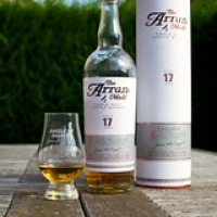 "The Arran 17 bottle, cask, and dram • <a style=""font-size:0.8em;"" href=""http://www.flickr.com/photos/21531446@N05/14954866656/"" target=""_blank"">View on Flickr</a>"