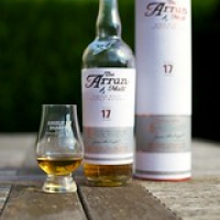 "The Arran 17 bottle, cask, and dram • <a style=""font-size:0.8em;"" href=""http://www.flickr.com/photos/21531446@N05/14977835275/"" target=""_blank"">View on Flickr</a>"